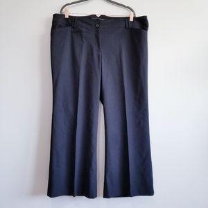 NWT LANE BRYANT BLACK WOMEN'S PETITE DRESS  PANT